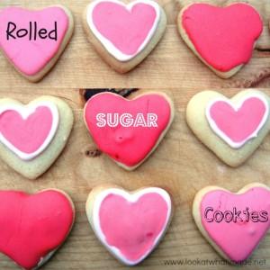 Valentine's Day Cookies – Rolled Sugar Cookies