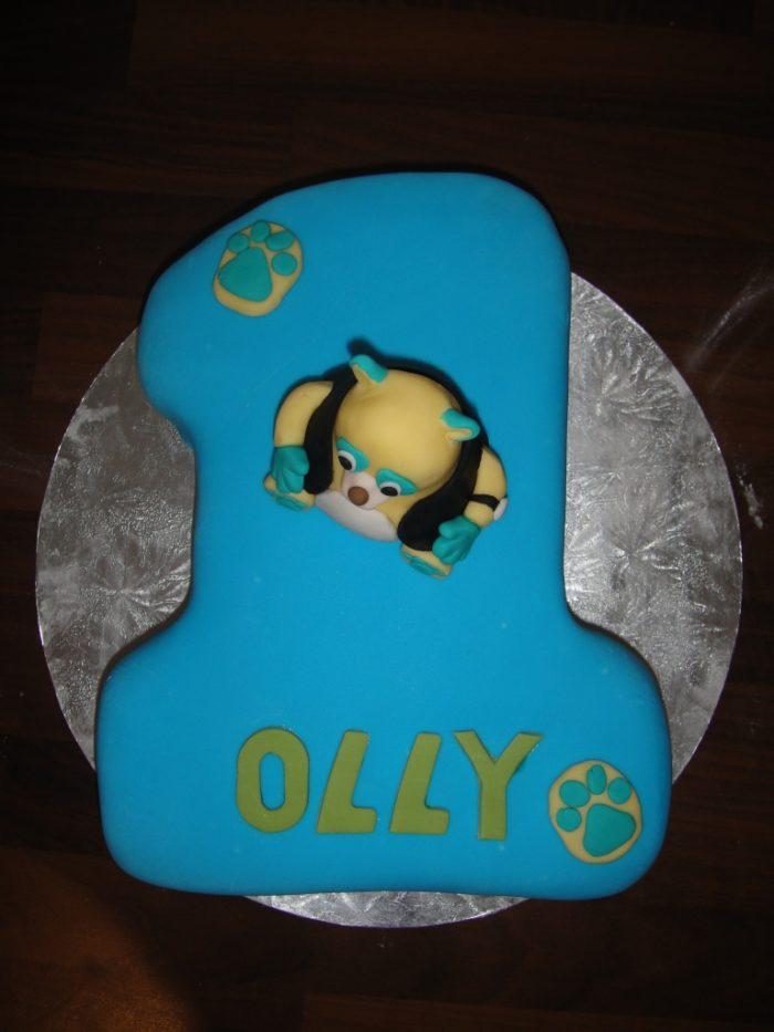 Oso Cake 18 Special Agent Oso Cake