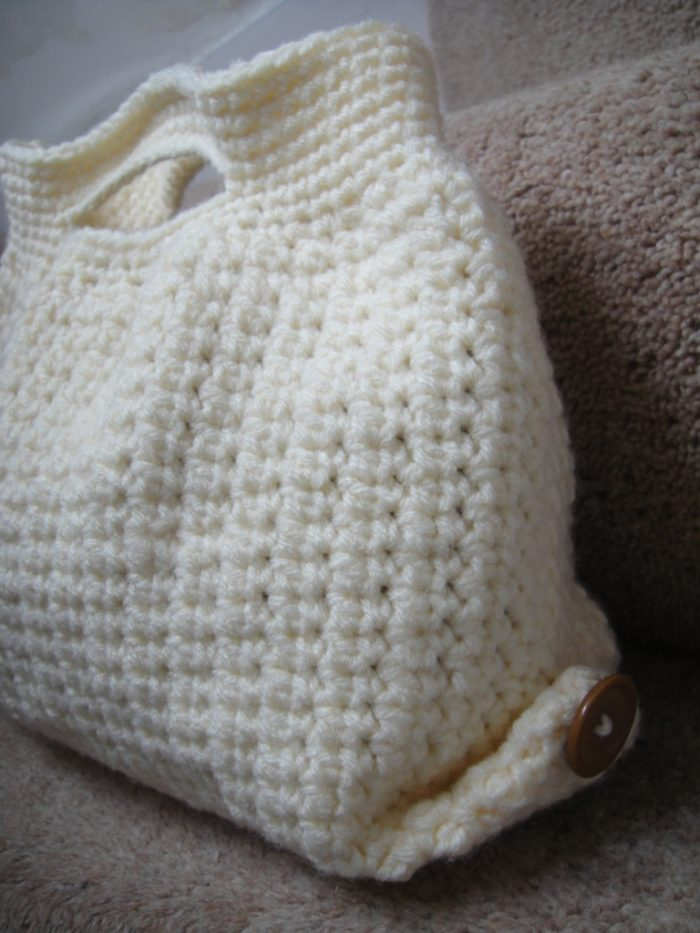 Crochet Net Bag Pattern Free : Blank Canvas Bag: Crochet Bag Pattern ? Look At What I Made