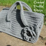 Crochet Duffel Purse Pattern