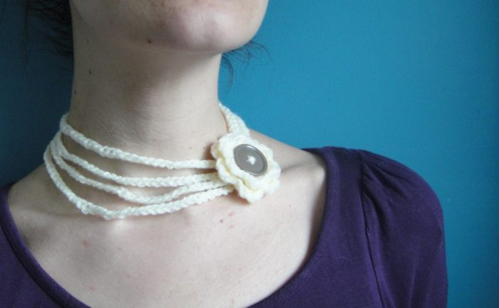 Crochet Necklace (3)