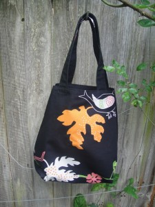 Simple Fabric Bag Tutorial