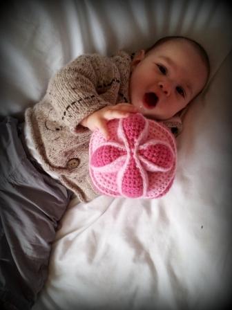 Crochet Amish Puzzle Ball