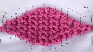 Crochet Amish Puzzle Ball Wedge Lid