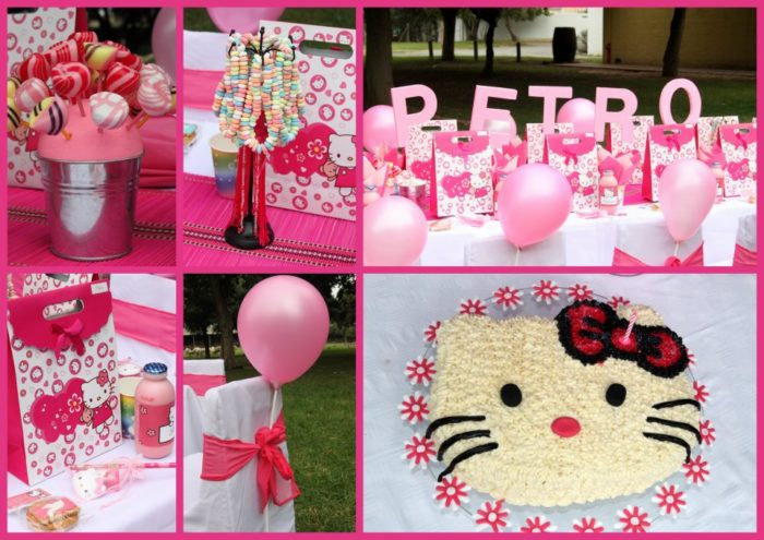 Hello Kitty Party Collage Hello Kitty Party:  DIY Ideas