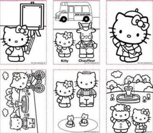 DIY Hello Kitty Party Template