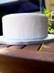 DIY Wedding Cake Part 5:  Decorating the Cake