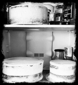 DIY Wedding Cake Part 4:  Icing the Cakes