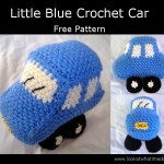 FREE Little Blue Car Crochet Pattern