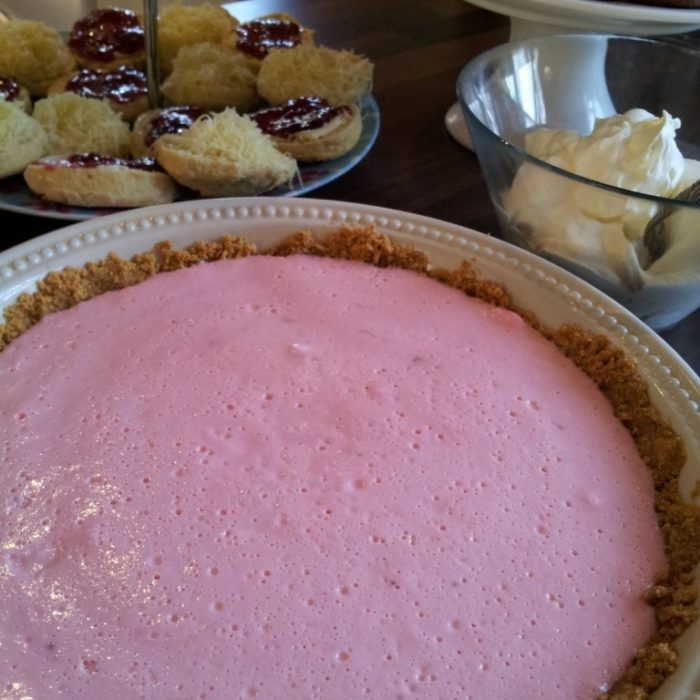 Jana's Marshmallow and Yogurt Tart - Look At What I Made