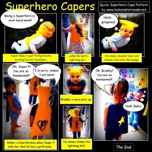 DIY Superhero Cape