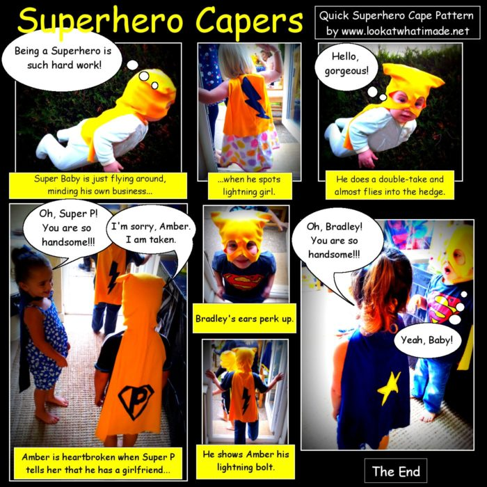 Superhero Cape Pattern ⋆ Look At What I Made
