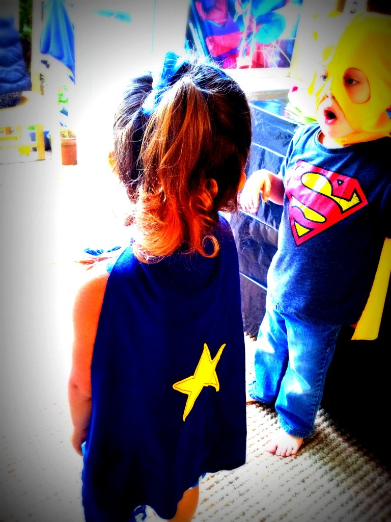 Superhero Pop Art Party Capes 5 768x1024 DIY Superhero Pop Art Party:  Fun and Frugal Ideas