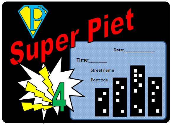 Superhero Pop Art Party Invites DIY Superhero Pop Art Party:  Fun and Frugal Ideas