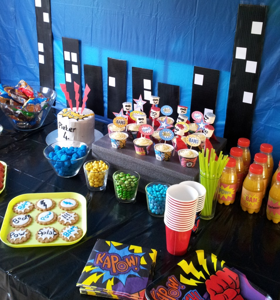 Superhero Pop Art Party