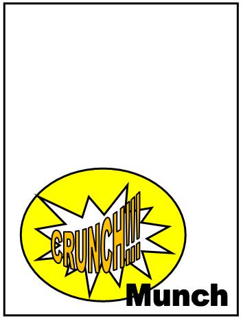 Superhero Pop Art Snack Labels 2