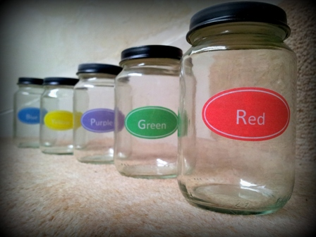 DIY Bath Paint 22 Make Your Own:  Waterproof Labels