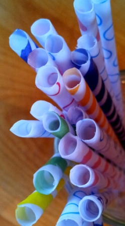 DIY Paper Straws 19 Make Your Own Paper Drinking Straws