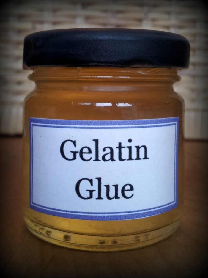 Gelatin Tacky Glue Recipe