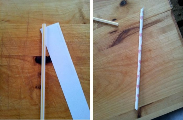 Picture1 Make Your Own Paper Drinking Straws