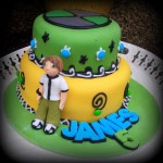 Ben 10 Cake – Two-tier Tutorial
