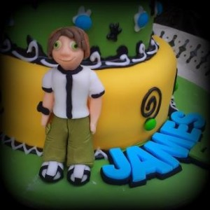 How to Make a Fondant Ben 10