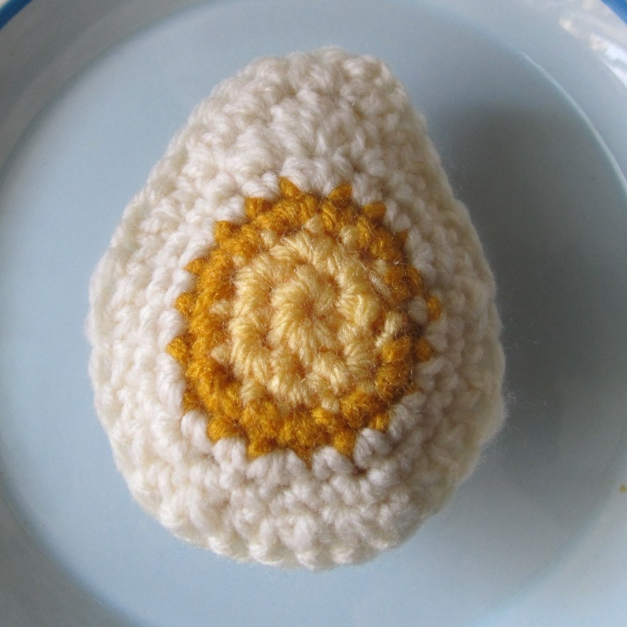 Crochet Boiled Egg Pattern