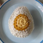 Crochet Boiled Egg Kathleen D'Angelo