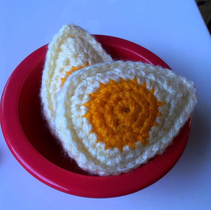 Crocheting Is Hard : Crochet Hard boiled Egg 3