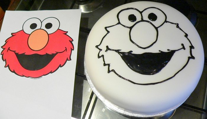 elmo template for cake how to make an elmo cake look at what i made