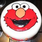How to Make an Elmo Cake