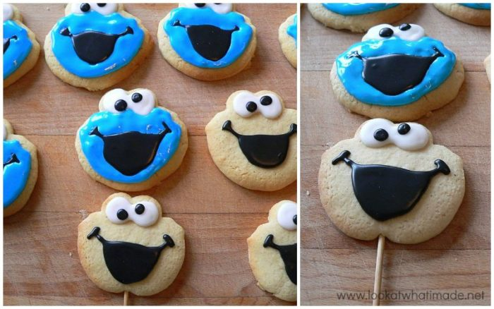 How To Make Elmo Cookies ⋆ Look At What I Made