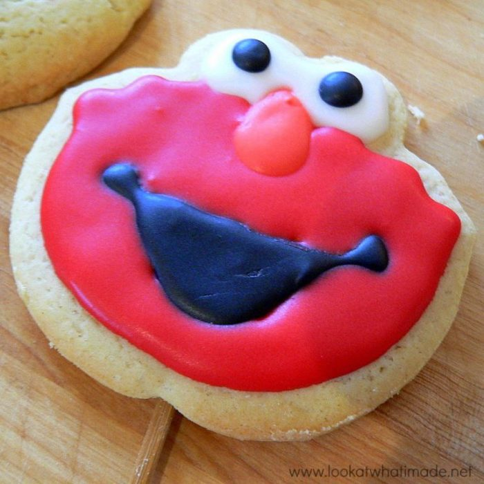How to Make Elmo Cookie