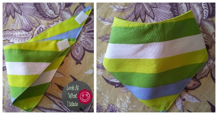How to make a Baby Bandana Bib 9 How to Make a Baby Bandana Bib