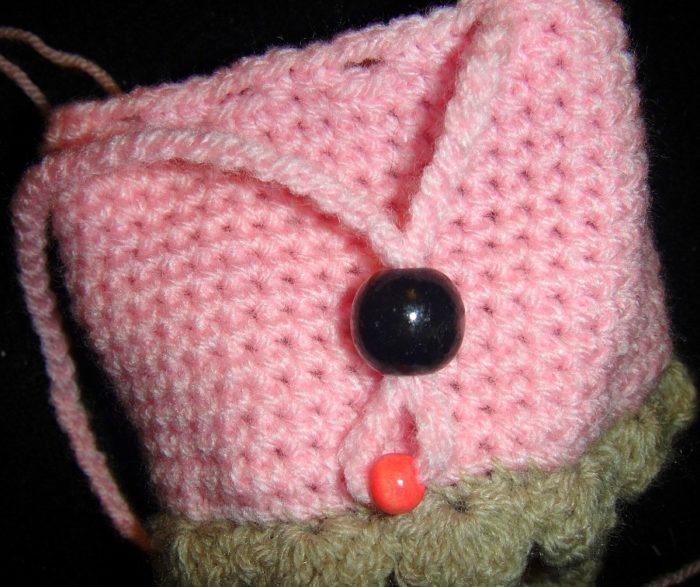 Crochet Ice-cream Cone Purse Cupcake (8)