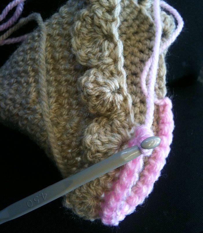 Crochet Ice-cream Cone Purse Cupcake (6)