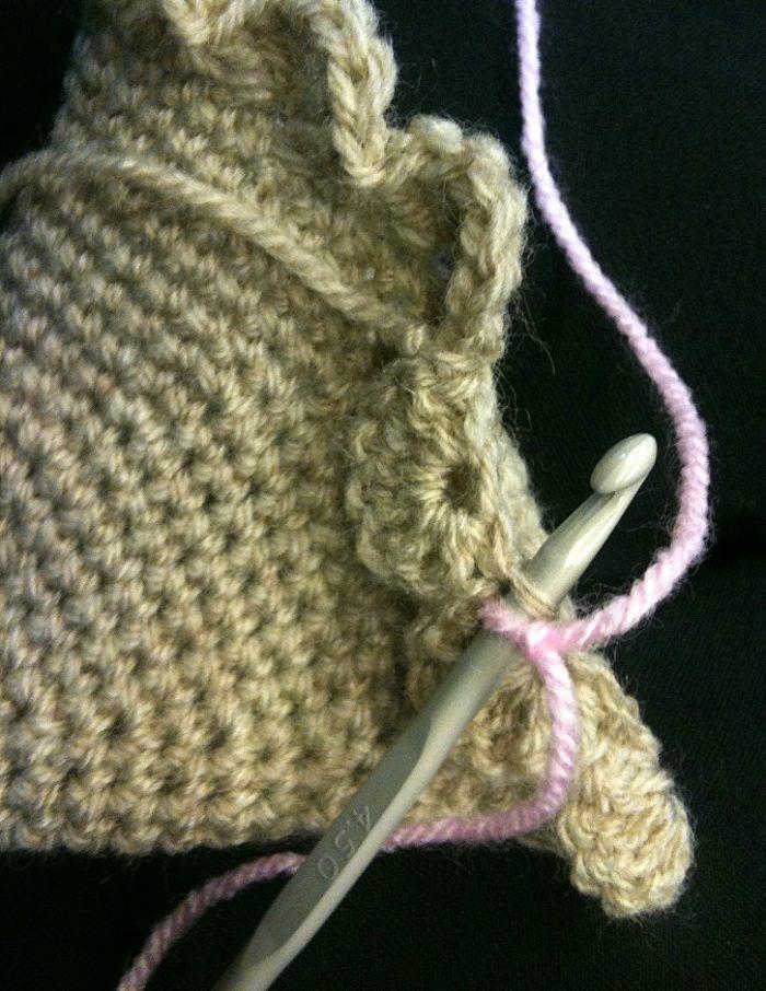 Crochet Ice-cream Cone Purse Cupcake (5)
