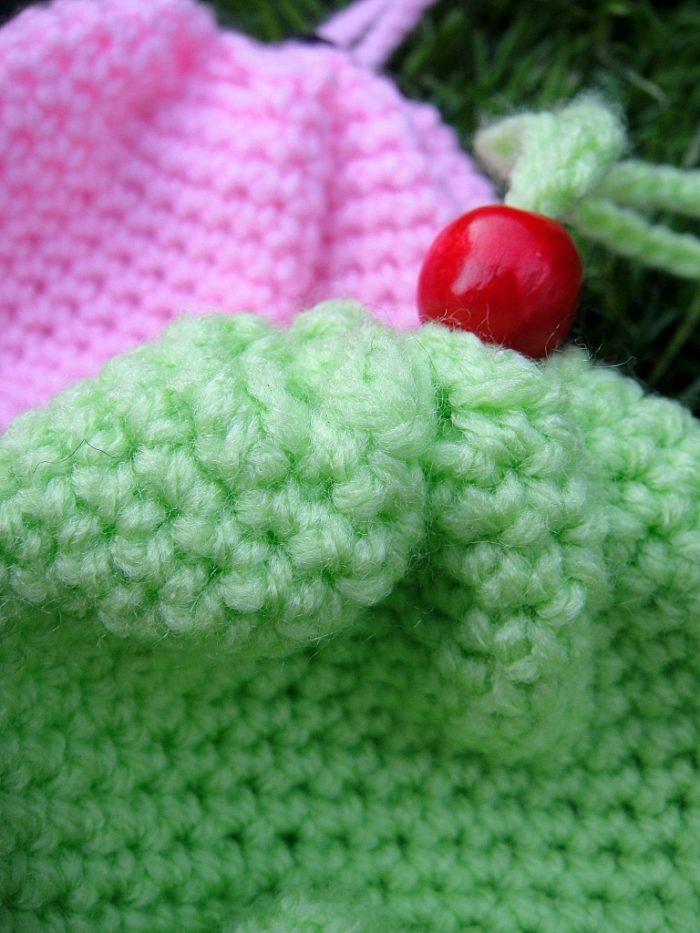 Crochet Ice-cream Cone Purse Cupcake (4)