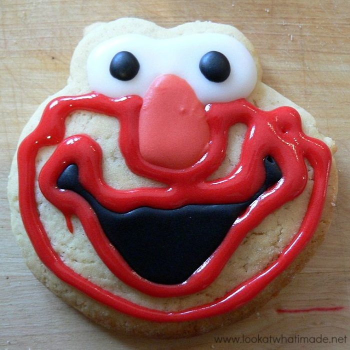 How to Make Elmo Cookies