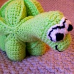 Crochet Dinosaur Puzzle Ball Pattern (5)