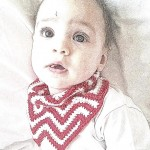 crochet chevron bandana bib pattern (2)
