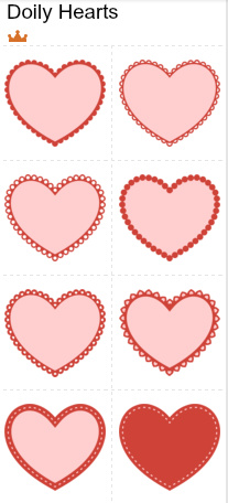 DIY Cupcake Topper Printables Valentines Day