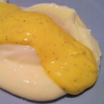 Super Simple Hollandaise Sauce With Basil