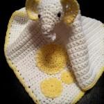 Grace:  Crochet Elephant Comfort Blanket