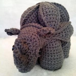 Crochet Rhinosaur (12)