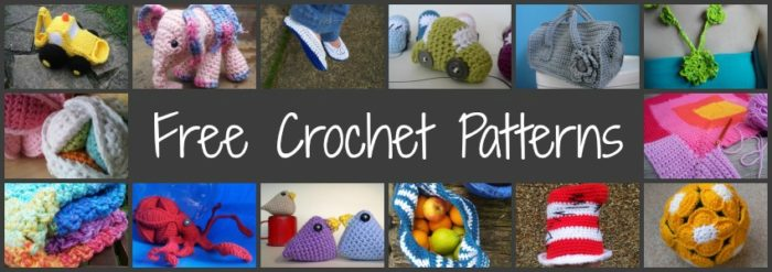 Free Crochet Patterns And Tutorials Look At What I Made