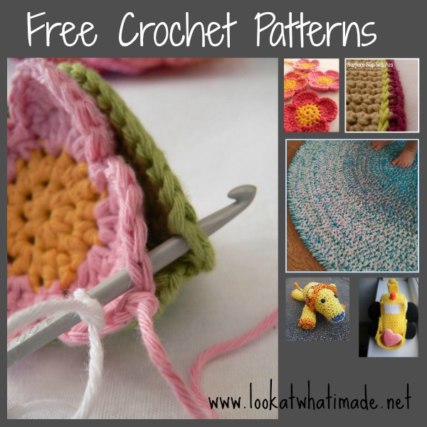 Crochet Patterns And Tutorials : Free Crochet Patterns and Tutorials - Look At What I Made