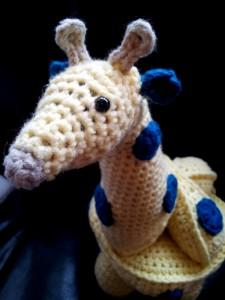 Gemina:  Crochet Giraffe Puzzle