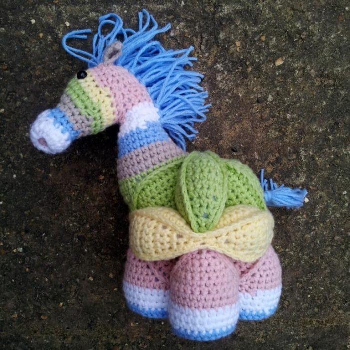 Crochet Horse Puzzle Amamani