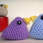 Super quick easter chick crochet pattern